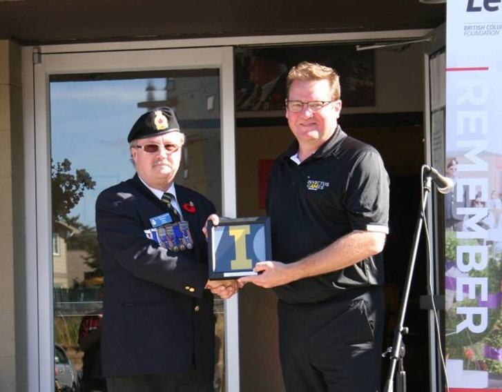 Invictus Flag Tour Legion Branch 91 BC