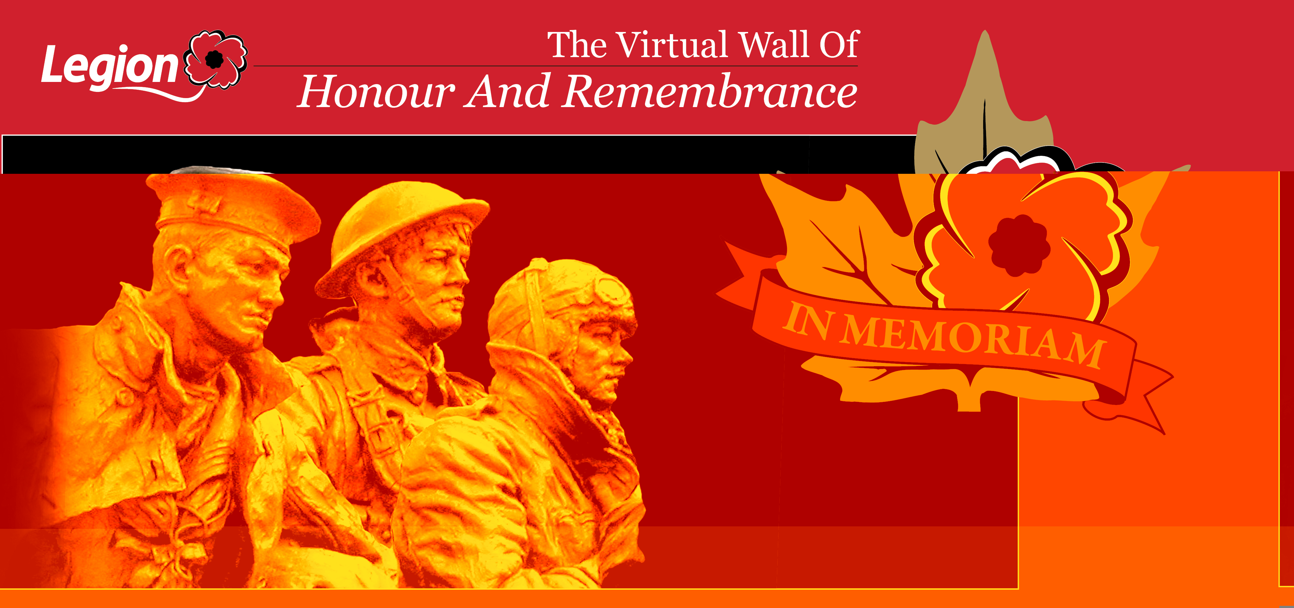 Legion Launches Virtual Wall of Honour and Remembrance for 2013