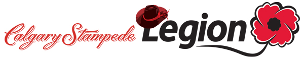 Legionnaires on site for the 2014 Calgary Stampede