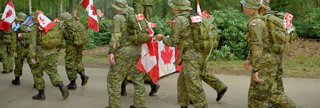 Legion Seeking Applicants for 2015 CAF Nijmegen March Team