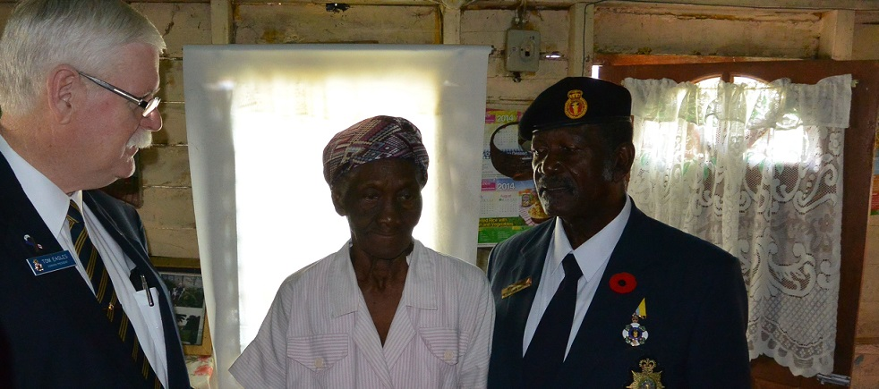 Legion Supports Commonwealth Veterans in the Caribbean