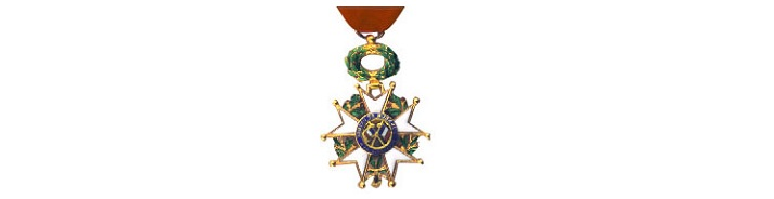 Nomination deadline for the Légion d'honneur medal has been extended to July 31, 2015