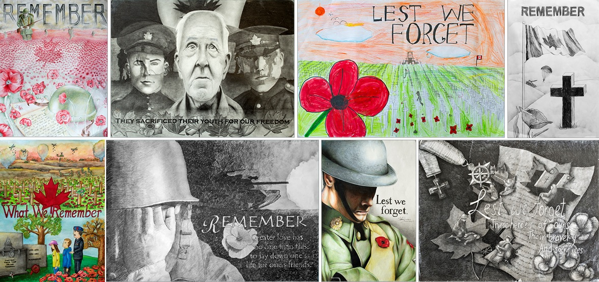 Legion Selects Winners of Poster and Literary Contests