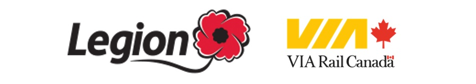 VIA Rail and Legion to Offer Poppies On Board Trains